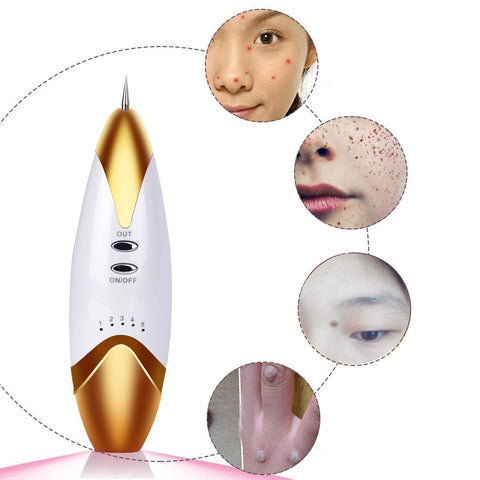 Portable Freckle Moles Spot Mole Wart Tattoo Laser Remover Pen - Rewardeals