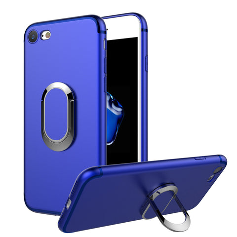 Luxury Magnet Soft TPU Ring Holder Case Cover for iPhone 8 / 8 Plus / X - Rewardeals