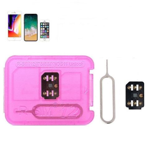 RSIM 12 and R-SIM Nano Unlock Card for iPhone X/8/7/6/6s/5/4G iOS 12 11 - Rewardeals