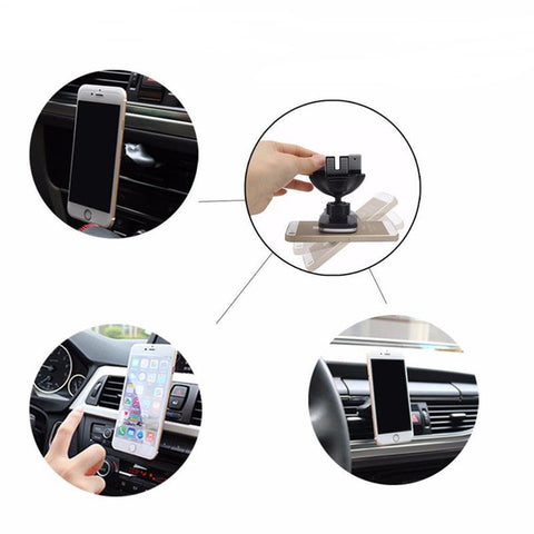 Laggra New 360º Magnetic Car Mount Holder Stand for Phone GPS - Rewardeals