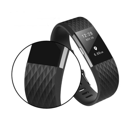 10 Pack Replacement Wristband Band for Fitbit Charge 2 - Rewardeals