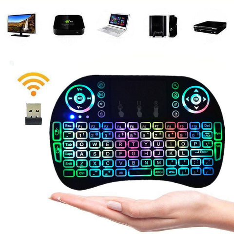 2.4G Mini Wireless Keyboard Mouse Touchpad For Android Laptop Smart TV Box PS3 - Rewardeals