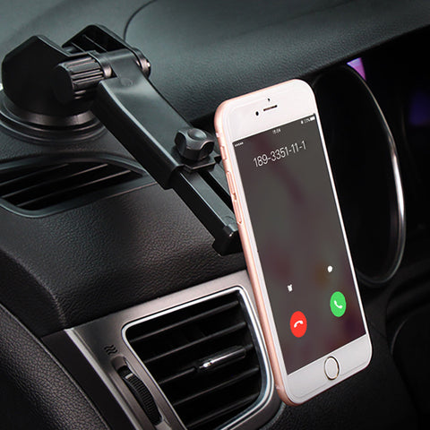LAGGRA Magnetic Car Dash Mount Dock for Cell Phone Tablet GPS - Rewardeals