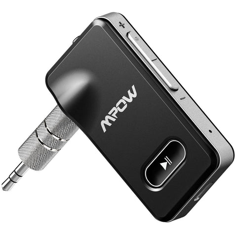 Bluetooth 4.1 Receiver Wireless Audio Adapter 3.5mm Aux Stereo Output - Rewardeals