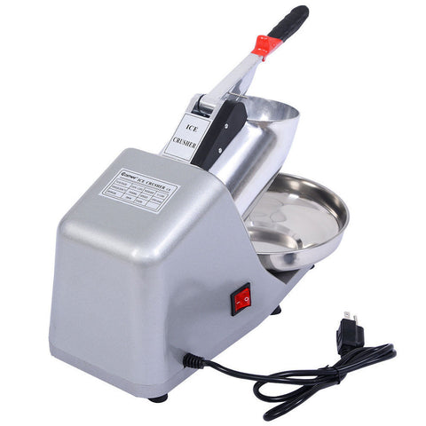 200W 110V Electric Snow Cone Maker Ice Shaver Machine - Rewardeals