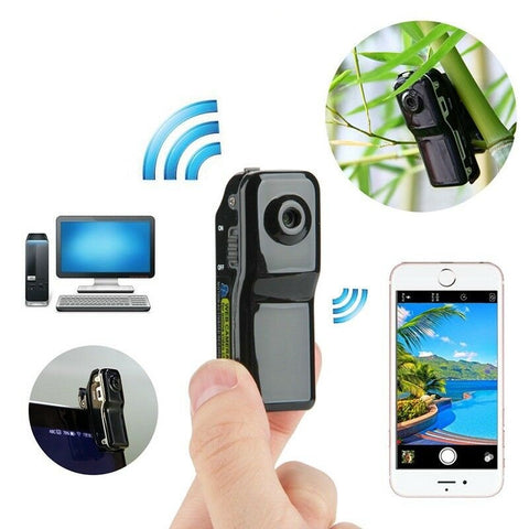 Super Mini WiFi Wireless Car Video Recorder Hidden Spy Camera - Rewardeals