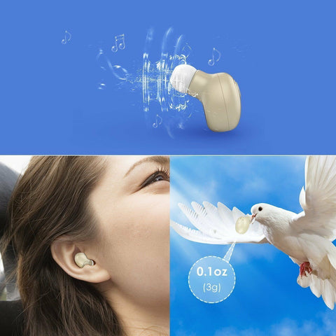 Mini Wireless Bluetooth Stereo Waterproof In-Ear Earphone Earbud - Rewardeals