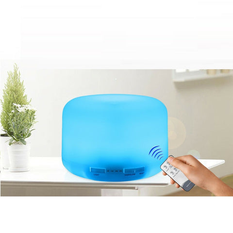 7 LED Essential Oil Aroma Therapy Humidifier 500ML - Rewardeals