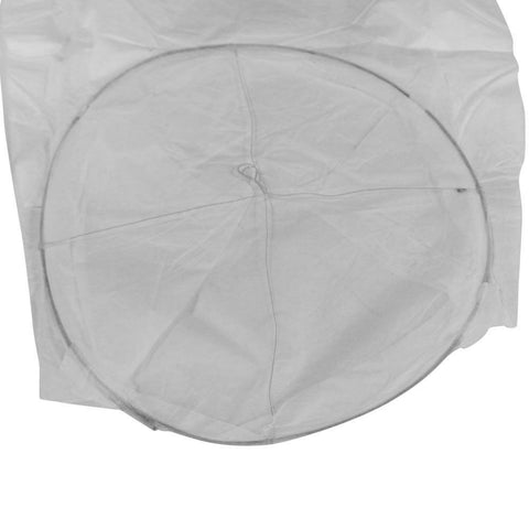 Oval Shape Flame Resistant Fire Party Wedding Sky Lantern (Set of 50) - Rewardeals
