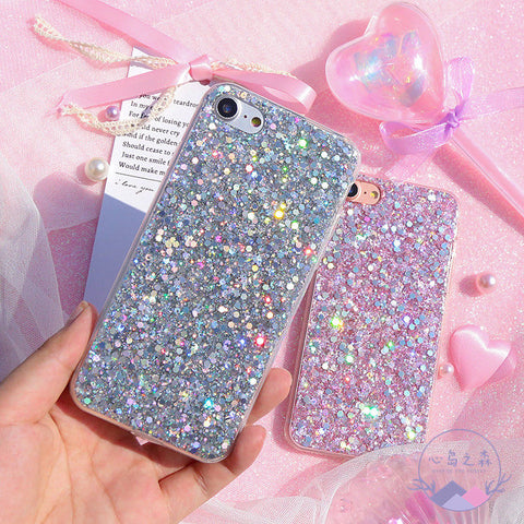 Laggra Bling Glitter Protective Slim Fit Phone Case Cover For iPhone - Rewardeals