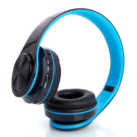 LAGGRA Universal Bluetooth Wireless Headphones and Microphone for Smartphone - Rewardeals