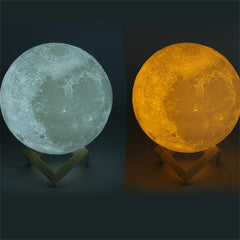 3D Moon Lamp (7 Colors)