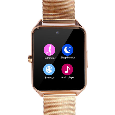 Bluetooth Smart Watch and Phone with Built-in Camera for Smartphone - Rewardeals