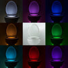Image of 8 Colors Body Motion Light Toilet Sensor - Rewardeals