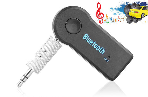 3.5mm Wireless Bluetooth Car AUX Audio Stereo Music Receiver Adapter with Mic - Rewardeals