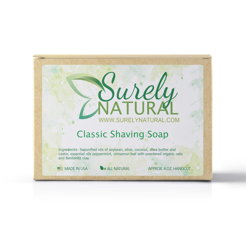 Surely Natural Classic Shaving Soap