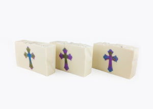Holy Goats! Goat's Milk Cross Soap