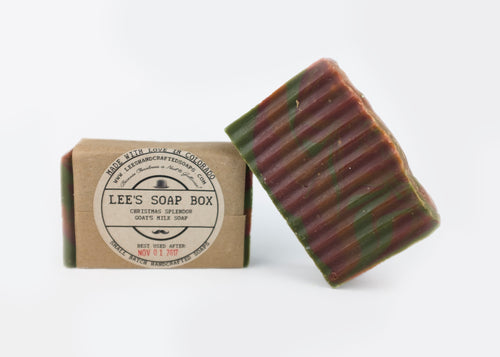 Christmas Splendor Goat's Milk Soap