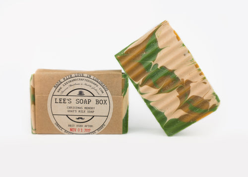 Christmas Memory Goat's Milk Soap