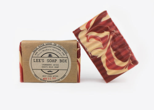 Cranberry Spice Goat's Milk Soap