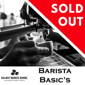 Thursday March 28th 2019 - Barista Workshop | 10am-4pm | €145