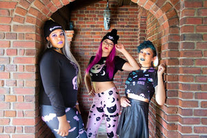 Behind the Scenes: Pastel Goth Shoot