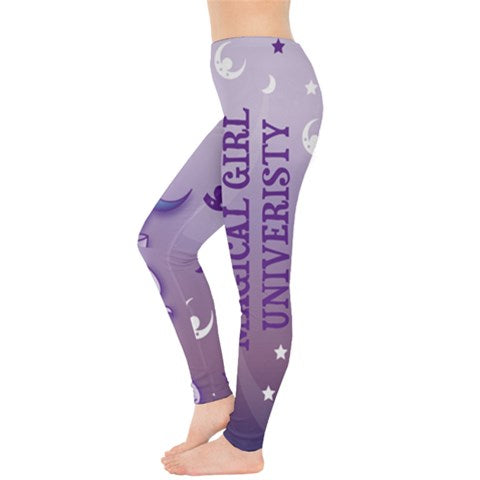 Magical Girl Univeristy Leggings Purple