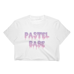 Pastel Babe Crop Top PLUS