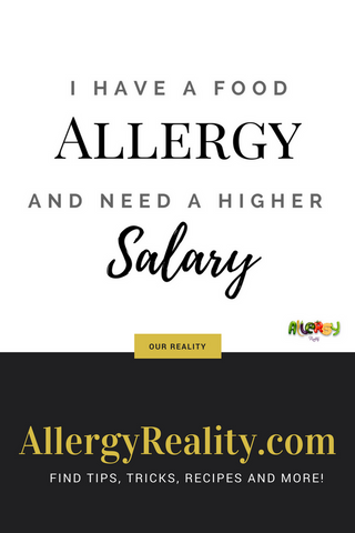 food allergy expenses
