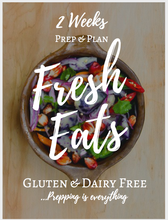 14 Day Fresh Eats: Meal Prep & Plan