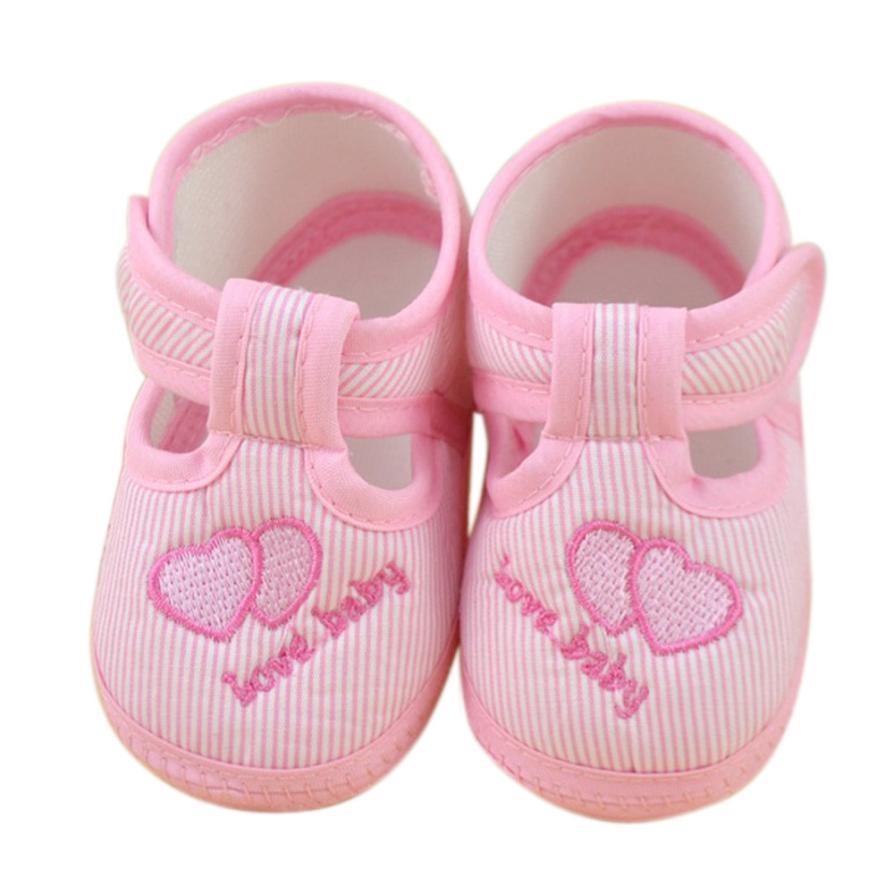 Newborn Baby Pink Sneaker Shoes