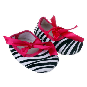 Newborn Baby Stripe Printed Shoes