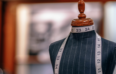 Accurate measurements make tailored clothes.
