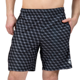 "ATK Apparel athletic shorts for men 5'8"" and under - Performance Shorts in black"