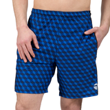 "ATK Apparel athletic shorts for men 5'8"" and under. Performance Shorts in Blue."