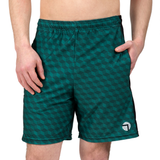 "ATK Apparel athletic shorts for men 5'8"" and under - Performance Shorts in green."