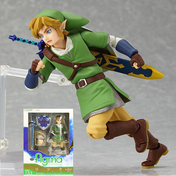 Boneco The Legend of Zelda: Skyward Sword - Link 14cm