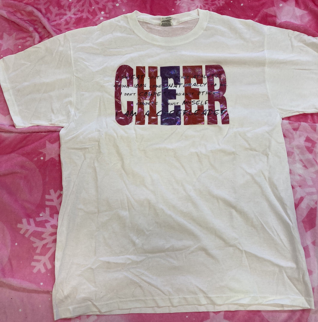CHEER - Poem Tshirt