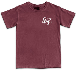 Float Sting Tee - Wine