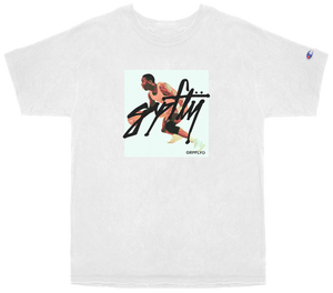 Air Go Champion Tee - White