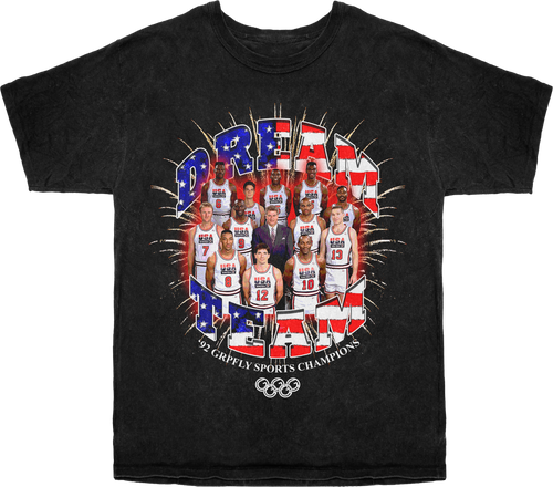 Dream Team Tee - Black