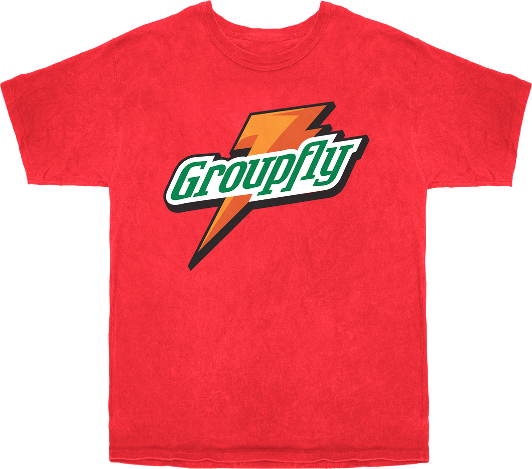 GRPFLYRADE TEE - WATERMELON
