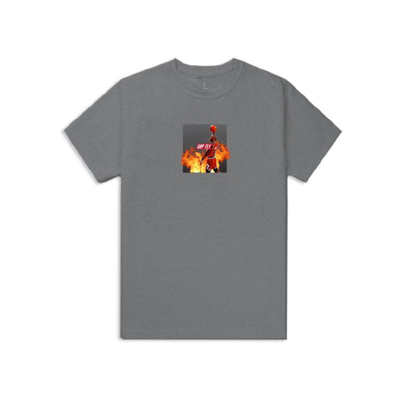 Youth Goat Tee - Heather Gray