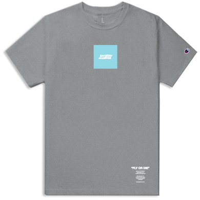 Champion Box Tee / Baby Blue