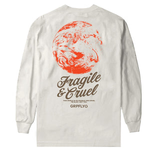 Jabee x GRPFLY Long Sleeve Tee Natural