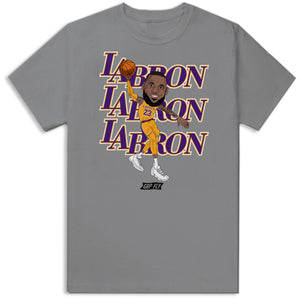 LA-bron Bobble Head