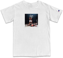 Knock Out Fear Tee - White