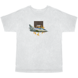 Space Jet Box Tee- White