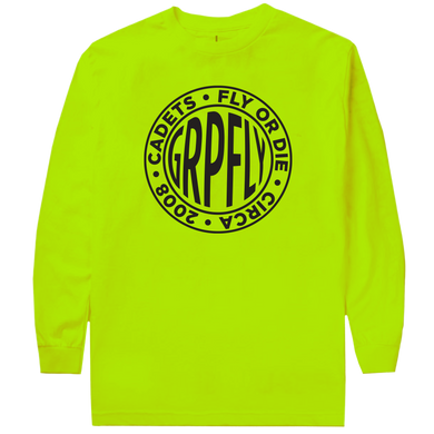 Logo Long Sleeve Tee - Volt