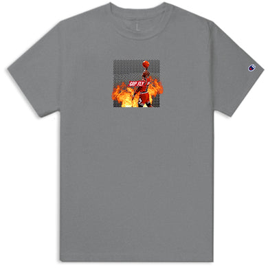 Goat Tee - Heather Gray